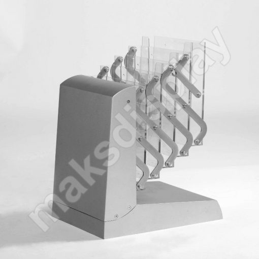 Akordion Broşür Standı A4