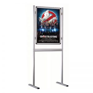 Ayaklı Poster Pano Çift Taraflı 700mm x 1000mm