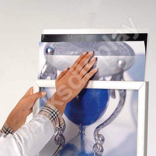 Oval Ayaklı Poster Pano