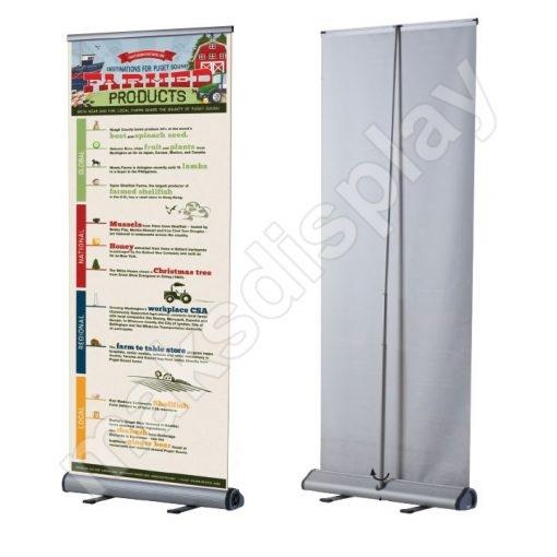 Smart Roll Up Banner 80cm