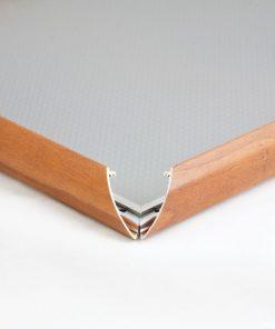 25mm Ahşap Görünümlü Alüminyum Çerçeve