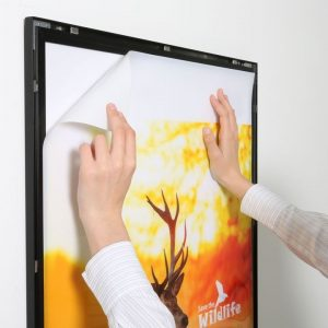 Magneco Poster LED Light Box Tek Taraflı