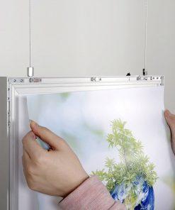 Magneco Poster LED Light Box Çift Taraflı