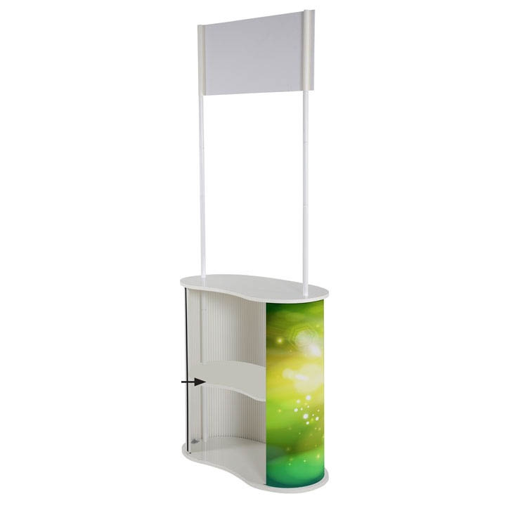 Oval Promo Stand